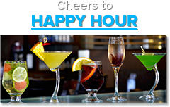 View our Happy Hour Menus