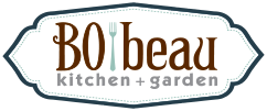 Bobeau kitchen + garden Logo