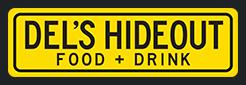 Del's Hideout Logo