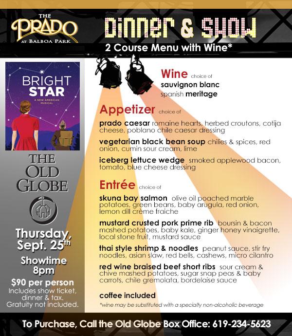 The Prado's Dinner & Show- Steve Martin's