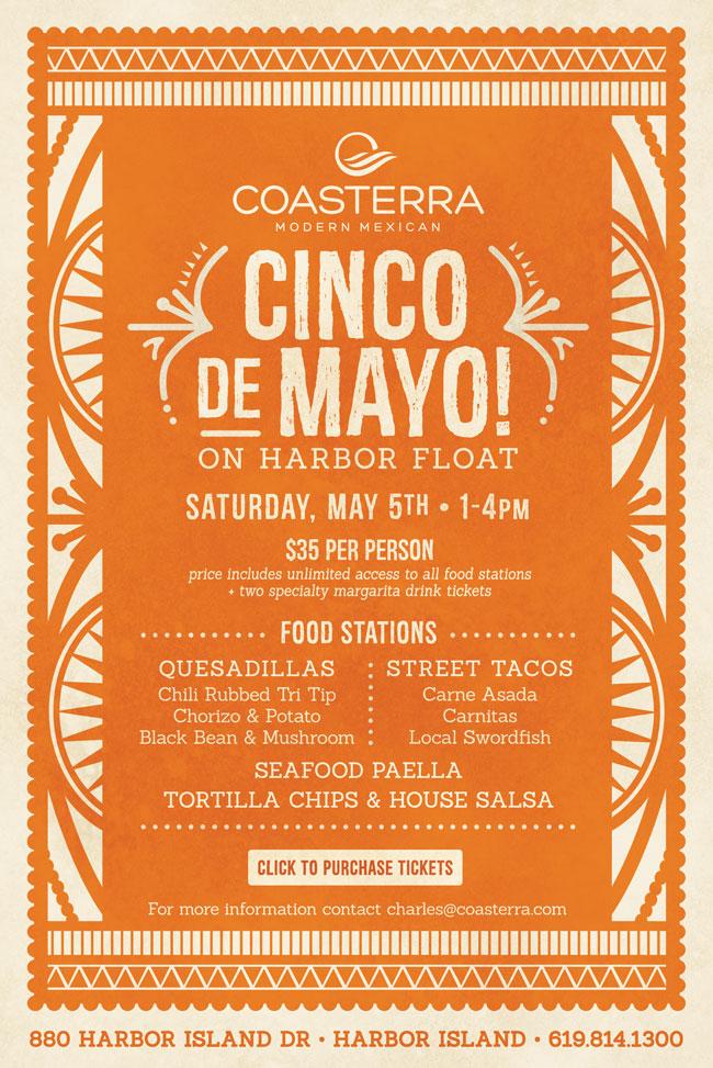 coasterra s cinco de mayo celebration cohn restaurant group