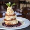 White Chocolate Cheesecake Tower