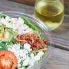 Salad & Wine
