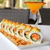 Spicy Salmon Crunch Roll